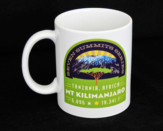 Mt. Kilimanjaro Seven Summits Coffee Mug
