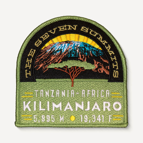 Mt. Kilimanjaro Seven Summits Patch