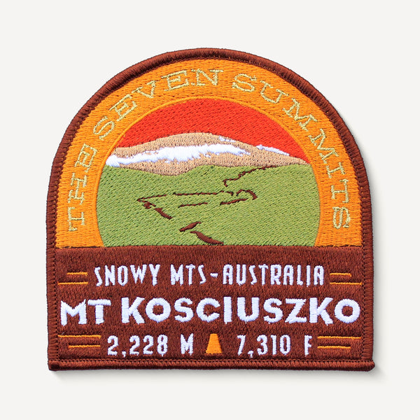 Mount Kosciuszko Australia Seven Summits Patch