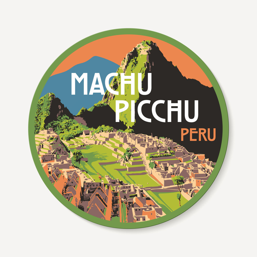 Machu Picchu Peru Travel Decal Sticker