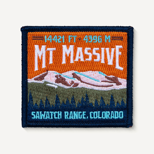 Mt. Massive Patch