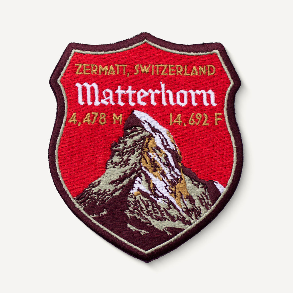 Matterhorn Switzerland Patch