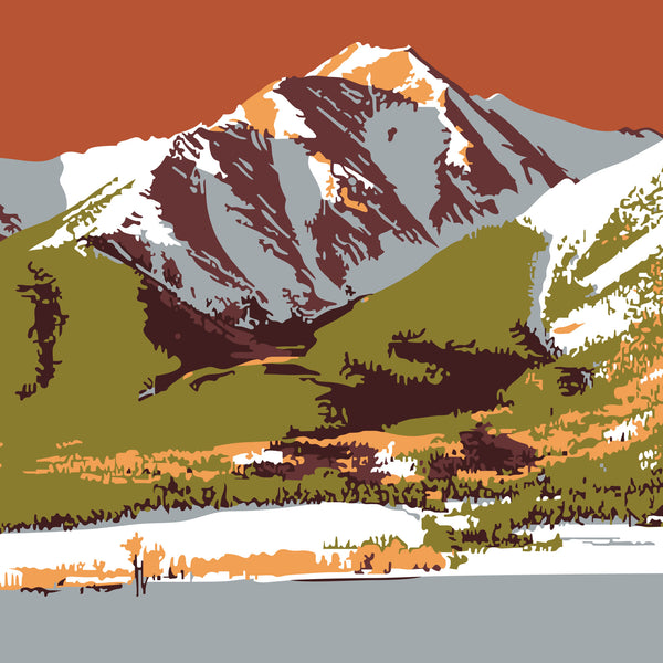 Mt. Princeton Colorado 14er Print