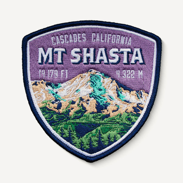 Mount Shasta Cascades California Patch