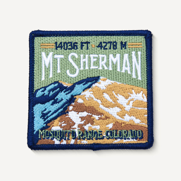 Mt. Sherman Colorado 14er Patch