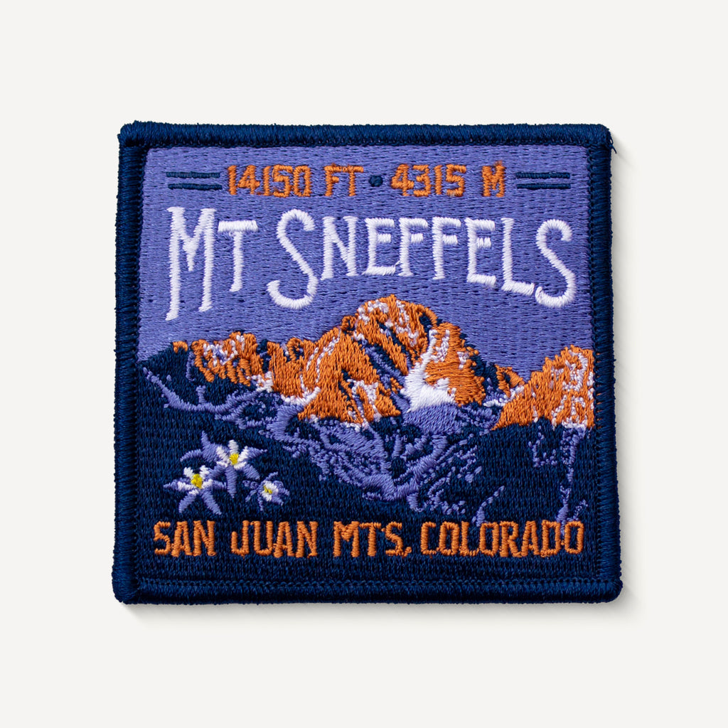 Mt. Sneffels Colorado 14er Patch