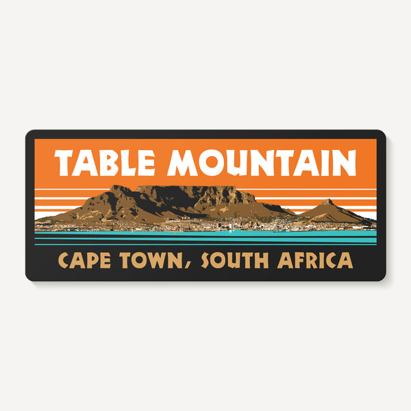 Table Mountain Cape Town South Africa Sticker