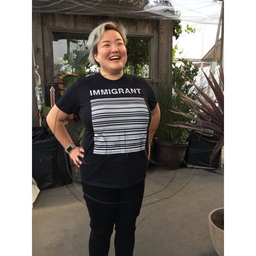 IMMIGRANT Barcode T-Shirt