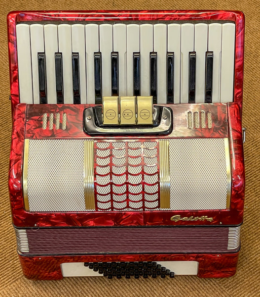 Galotta 48 bass piano accordion second hand