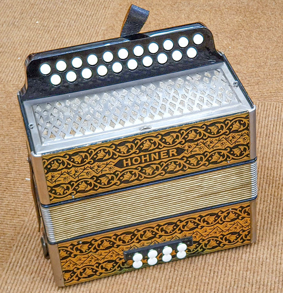 Hohner Pokerwork in D/G, vintage German made