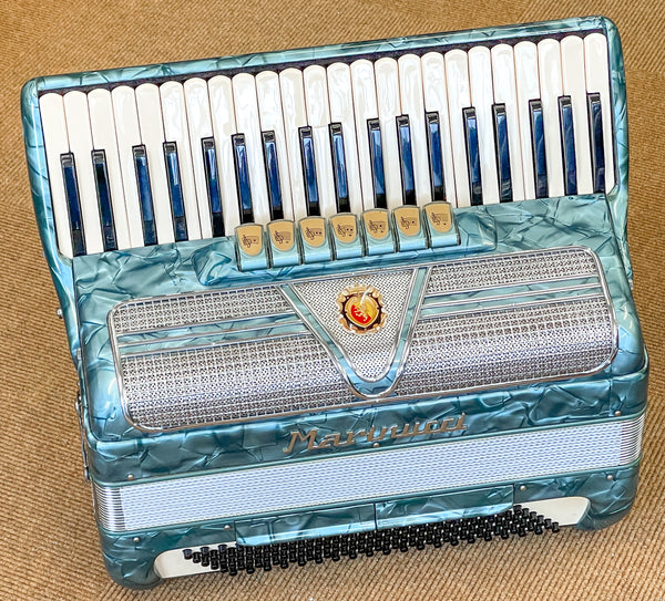 Marinucci 3 voice 41 key 120 bass piano accordion - second hand
