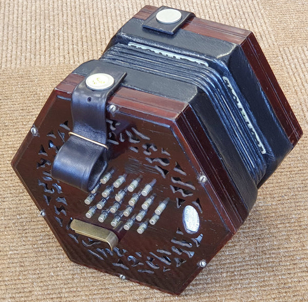 Lachenal 48 key English Concertina - Paragon