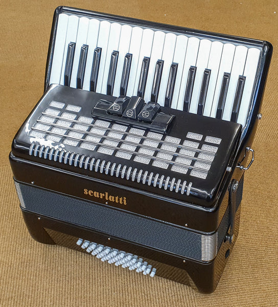 Scarlatti 48 bass piano accordion - TheReedLounge.com