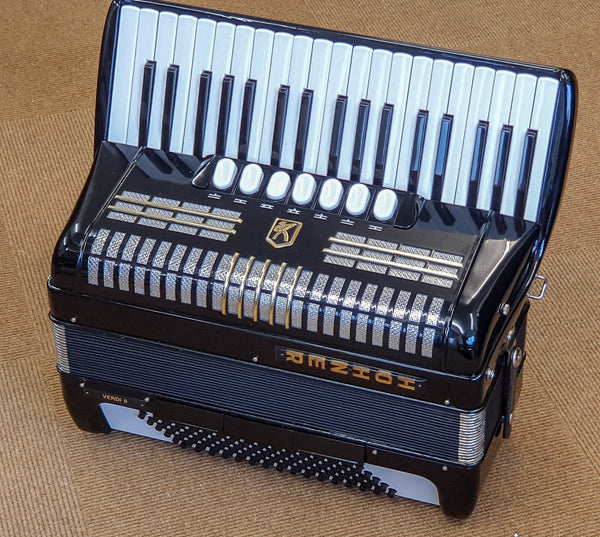 Hohner Verdi II 96 bass 3 voice piano accordion - TheReedLounge.com