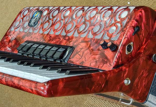 Royal Standard 120 bass 3 voice Piano Accordion - TheReedLounge.com