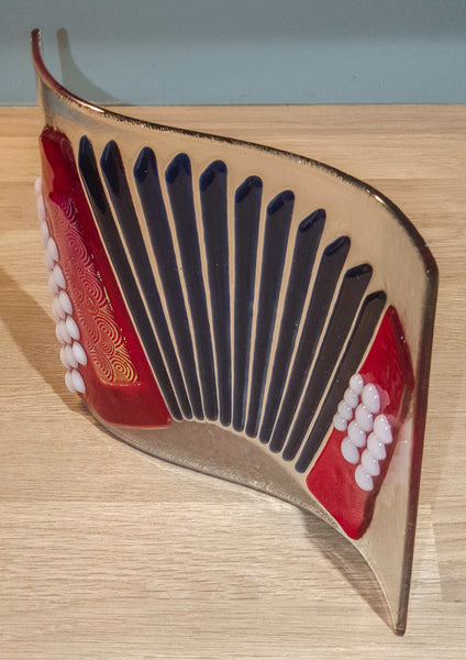 Deluxe Button Accordion Decorative Glassware - TheReedLounge.com