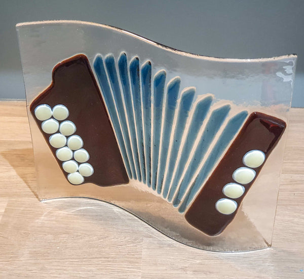 Button Accordion Decorative Glassware - TheReedLounge.com
