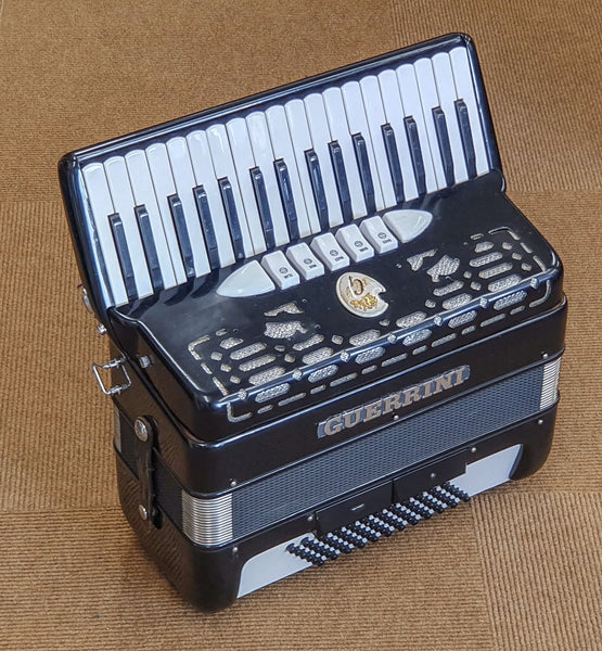 Guerrini 34 key 3 voice 72 bass Piano Accordion - TheReedLounge.com