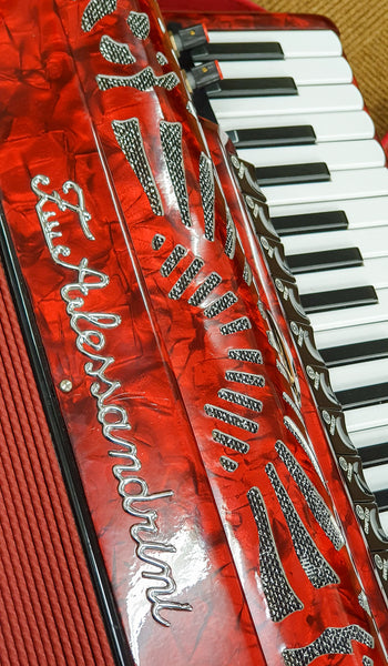 Fratelli Alessandrini 4 voice musette 120 bass piano accordion - TheReedLounge.com