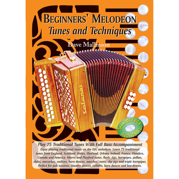 Beginners' Melodeon Tunes and Techniques Book - Dave Mallinson - TheReedLounge.com