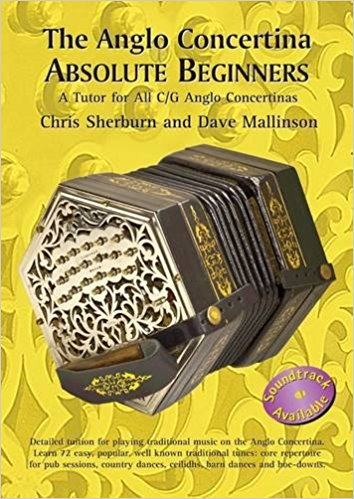 The Anglo Concertina Absolute Beginners CD: Chris Sherburn and Dave Mallinson - TheReedLounge.com
