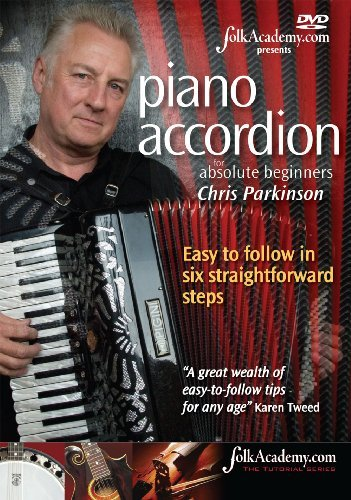 DVD - Piano Accordion for Absolute Beginners - Chris Parkinson - TheReedLounge.com
