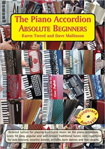 The Piano Accordion Absolute Beginners : Karen Tweed and Dave Mallinson - TheReedLounge.com