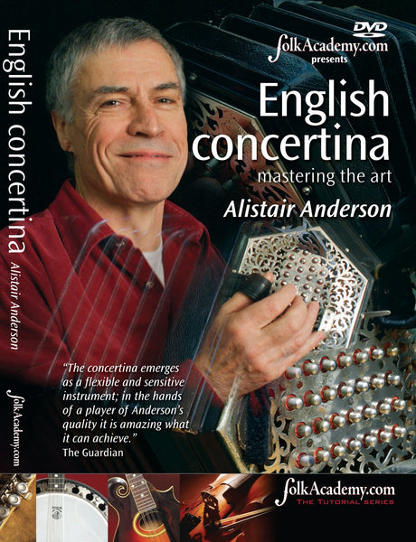 DVD - English Concertina: Mastering the Art - Alistair Anderson - TheReedLounge.com