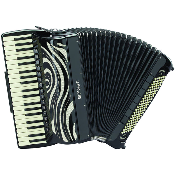 Pigini Caruso 4 voice 120 bass piano accordion - TheReedLounge.com