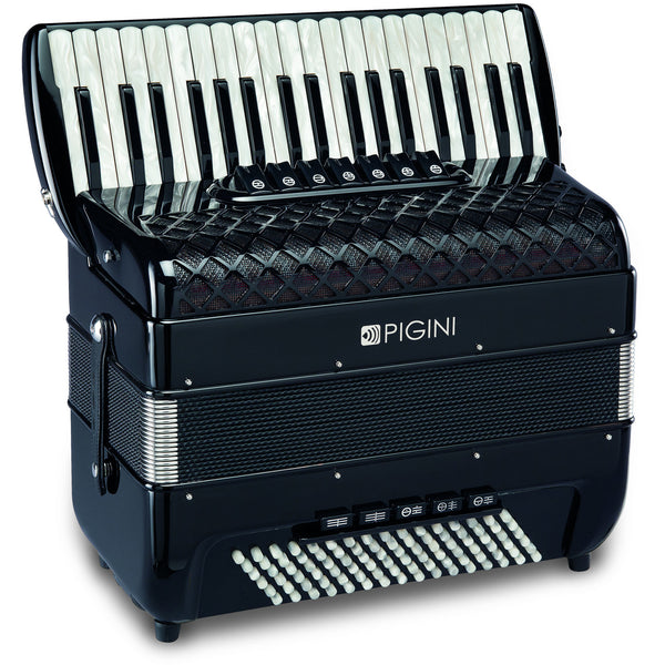 Pigini Convertor 37/P3 96 bass piano accordion - TheReedLounge.com