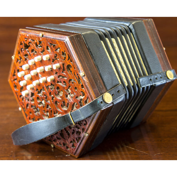 Lachenal 32 key C/G Anglo concertina - TheReedLounge.com