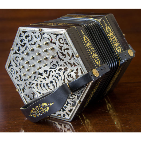 Jeffries 44 key Anglo Concertina in C/G - TheReedLounge.com
