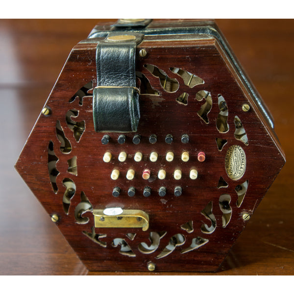 Lachenal Tutor model 48 key English Concertina - BellowsUnlimited.com