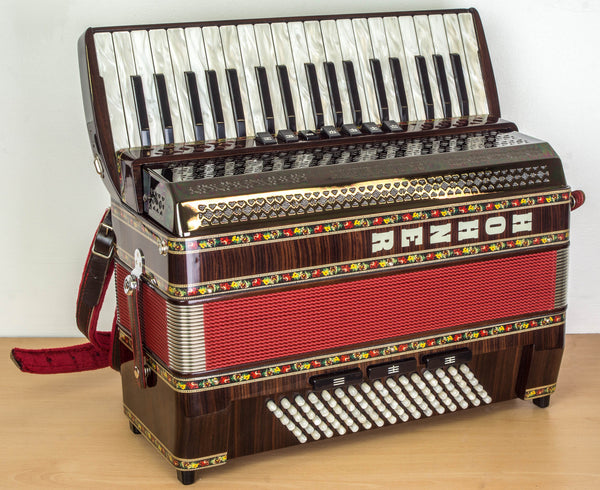 Hohner Alpina IV 96 bass Piano Accordion - TheReedLounge.com