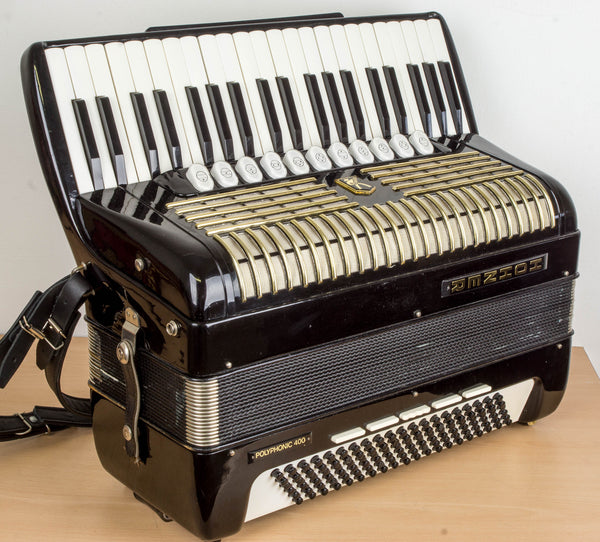Hohner Polyphonic 400 Convertor Piano Accordion - TheReedLounge.com