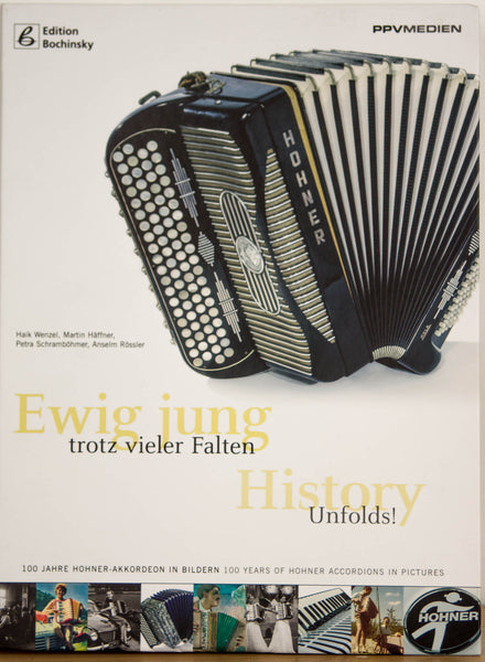 Hohner - History Unfolds - Ewig jung trotz vieler Falten - Book - TheReedLounge.com