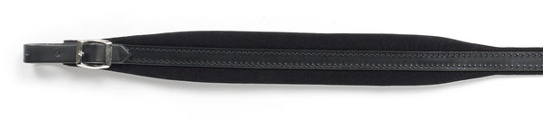 Italian Shoulder straps, Extra Long, Real Leather with Velvet padding, 45mm wide - TheReedLounge.com