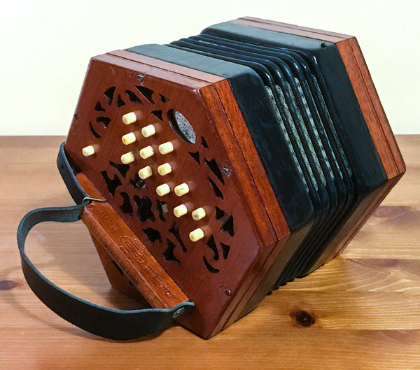 Lachenal 26 key Anglo C/G Concertina - TheReedLounge.com
