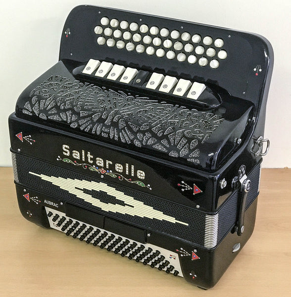 Saltarelle Aubrac BCC# 4 voice Button Accordion