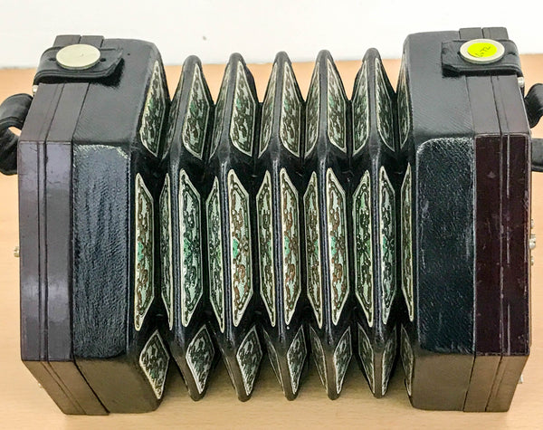 Lachenal Paragon 48 key English Concertina - TheReedLounge.com