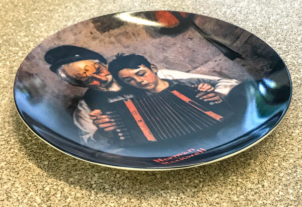 The Music Maker Collector Plate by Norman Rockwell