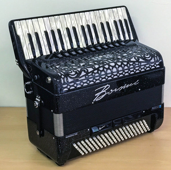 Borsini K9 4 voice musette Piano accordion