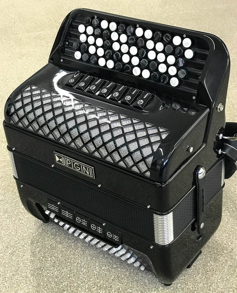 Pigini Convertor 37/B3 C system Accordion - TheReedLounge.com