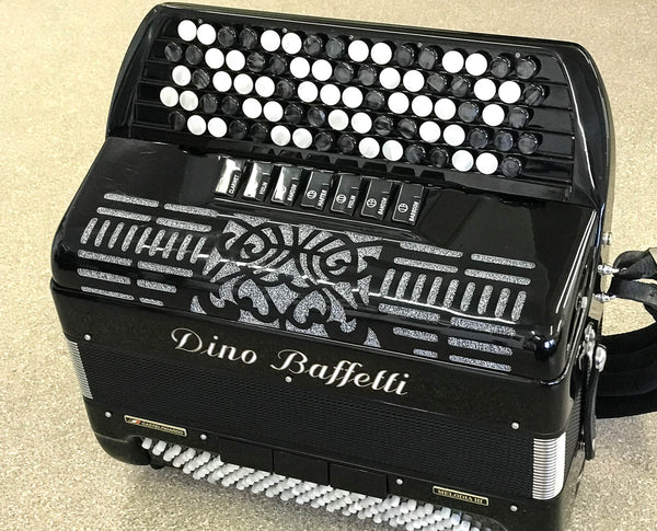 Dino Baffetti Melodia III C system accordion - TheReedLounge.com