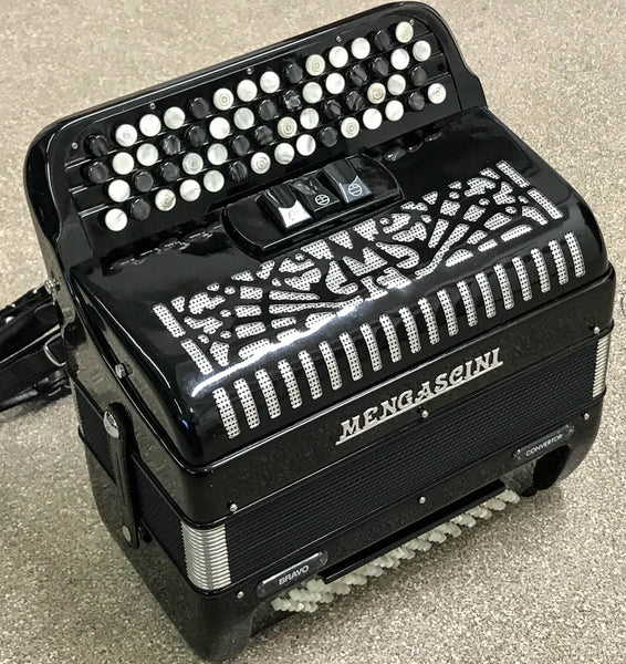 Mengascini Bravo B system freebass convertor accordion