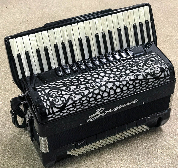 Borsini Vienna 414 Piano Accordion - TheReedLounge.com