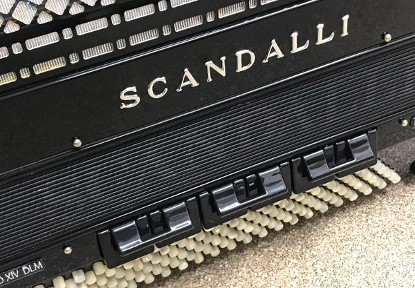 Scandalli Polifonico XIV DLM Piano Accordion - TheReedLounge.com