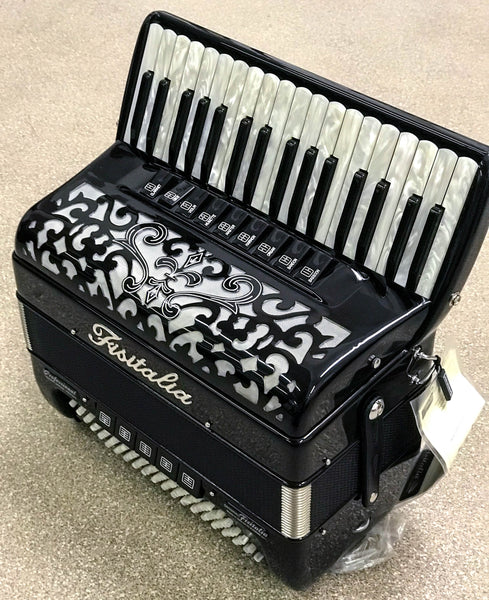 Fisitalia 34.45-S 34 key piano accordion - TheReedLounge.com