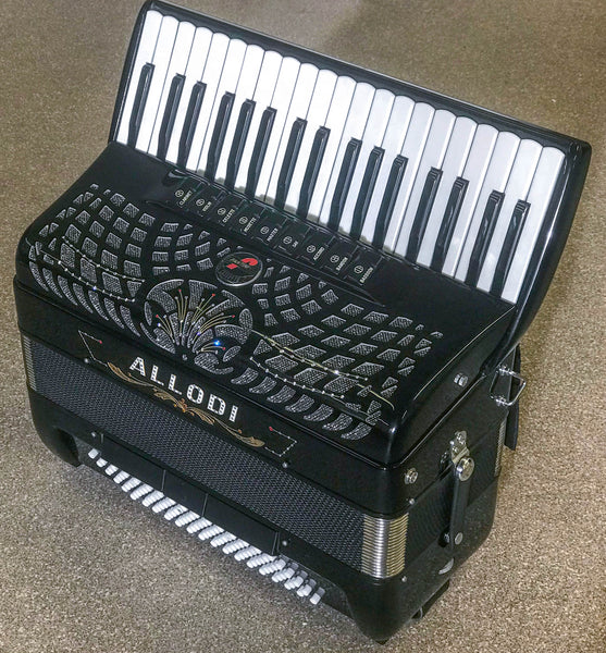 Fantini Allodi Double Cassotto Musette 96 bass piano accordion