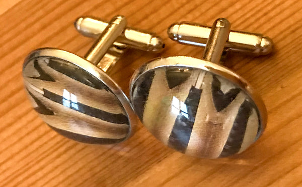 Cufflinks, featuring accordion bellows - TheReedLounge.com
